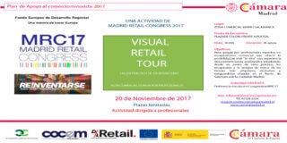 Visual Retail Tour. Ruta guiada de escaparatismo en #MRC17